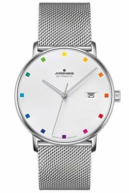 Junghans Automatik-Uhr Form A 100 Jahre Bauhaus 027/4937.44 - 1