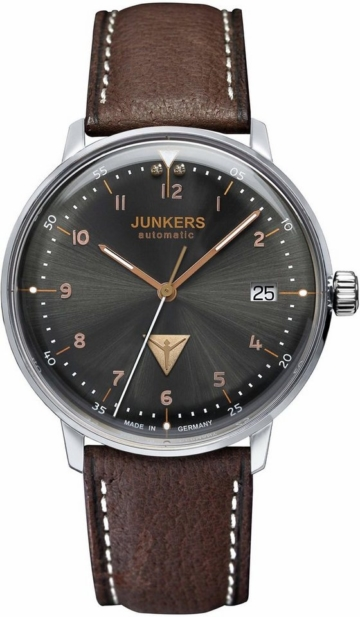Junkers-Uhren Automatikuhr »Bauhaus, 60672« made in Germany