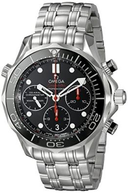 Omega Seamaster Diver 300m Koaxialkabel Chronograph 41, 5mm Herren-Armbanduhr 212.30.42.50.01.001von Omega - 1