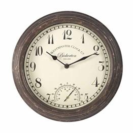 Smart Garden 5060000-Uhr Bickerton Wall Clock 12 - 1