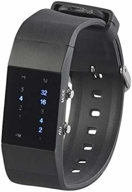 St. Leonhard Damen Uhr Digital Digitales Quarzwerk mit Silikon Armband W204DB - 1