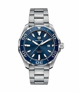 TAG Heuer Aquaracer Herren-Armbanduhr 43mm Quarz Analog WAY101C.BA0746 - 1