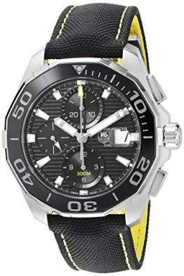 TAG Heuer Aquaracer Herren-Armbanduhr 43mm Schweizer Automatik CAY211A.FC6361 - 1
