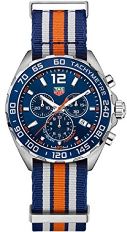 TAG Heuer Formula 1 Herren-Armbanduhr 43mm Armband Nylon Quarz CAZ1014.FC8196 - 1