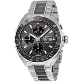 TAG Heuer Herren-Armbanduhr 44mm Armband Edelstahl Gehäuse + Schweizer Automatik CAZ2012.BA0970 - 1