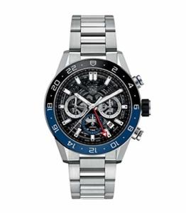 TAG HEUER Uhr Carrera Calibre HEUER 02 CRONOGRAFO AUTOMATISCH GMT CBG2A1Z.BA0658 - 1