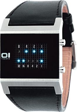 The One Herren-Armbanduhr digital Quarz KERALA TRANCE KT102B1 - 1