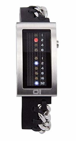 The One Unisex Binär Quarz Uhr IRM109RB1 - 1