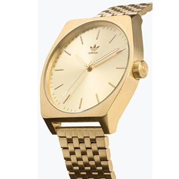 Adidas Damen Analog Quarz Uhr mit Edelstahl Armband Z02-502-00 - 2