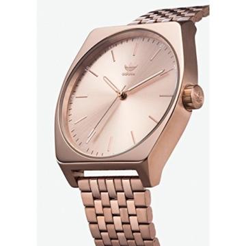Adidas Damen Analog Quarz Uhr mit Edelstahl Armband Z02-897-00 - 2