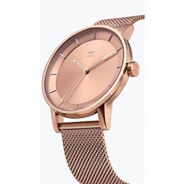 Adidas Damen Analog Quarz Uhr mit Edelstahl Armband Z04-897-00 - 2