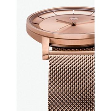 Adidas Damen Analog Quarz Uhr mit Edelstahl Armband Z04-897-00 - 3