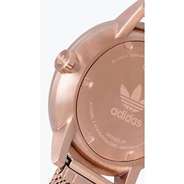 Adidas Damen Analog Quarz Uhr mit Edelstahl Armband Z04-897-00 - 4