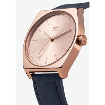 Adidas Damen Analog Quarz Uhr mit Leder Armband Z05-2908-00 - 2