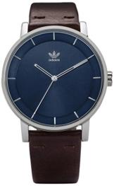 Adidas Damen Analog Quarz Uhr mit Leder Armband Z08-2920-00 - 1
