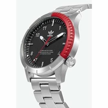 Adidas Herren Analog Quarz Smart Watch Armbanduhr mit Edelstahl Armband Z03-2958-00 - 2