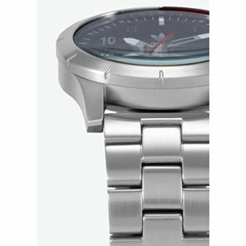 Adidas Herren Analog Quarz Smart Watch Armbanduhr mit Edelstahl Armband Z03-2958-00 - 3