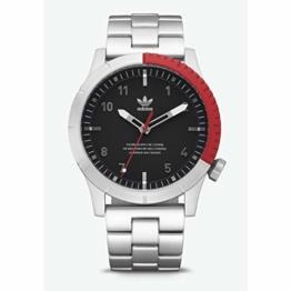 Adidas Herren Analog Quarz Smart Watch Armbanduhr mit Edelstahl Armband Z03-2958-00 - 1