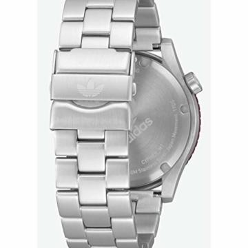 Adidas Herren Analog Quarz Smart Watch Armbanduhr mit Edelstahl Armband Z03-2958-00 - 5
