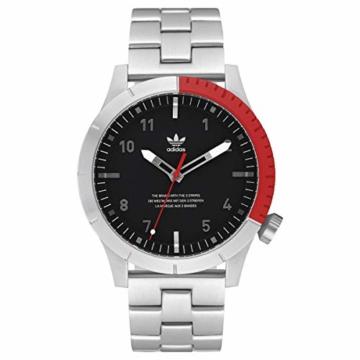 Adidas Herren Analog Quarz Smart Watch Armbanduhr mit Edelstahl Armband Z03-2958-00 - 6