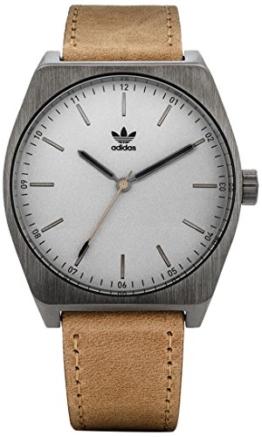 Adidas Herren Analog Quarz Uhr mit Leder Armband Z05-2916-00 - 1