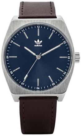 Adidas Herren Analog Quarz Uhr mit Leder Armband Z05-2920-00 - 1