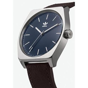 Adidas Herren Analog Quarz Uhr mit Leder Armband Z05-2920-00 - 2