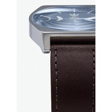 Adidas Herren Analog Quarz Uhr mit Leder Armband Z05-2920-00 - 3