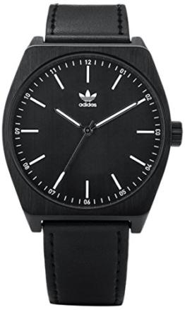 Adidas Herren Analog Quarz Uhr mit Leder Armband Z05-756-00 - 1