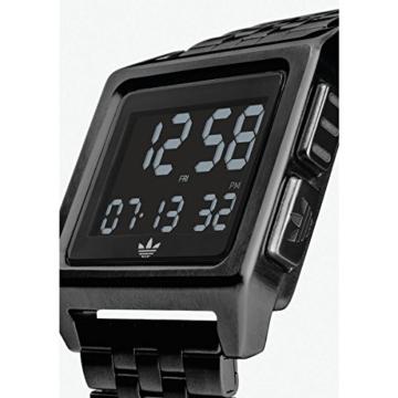 Adidas Herren Digital Uhr mit Edelstahl Armband Z01-001-00 - 2