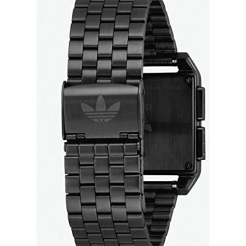 Adidas Herren Digital Uhr mit Edelstahl Armband Z01-001-00 - 5