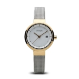 BERING Damen-Armbanduhr Analog Solar Edelstahl 14426-010 - 1