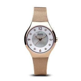 BERING Damen-Armbanduhr Analog Solar Edelstahl 14427-366 - 1