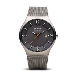 BERING Herren-Armbanduhr Analog Solar Edelstahl 14440-077 - 1