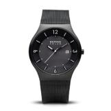 BERING Herren-Armbanduhr Analog Solar Edelstahl 14440-222 - 1