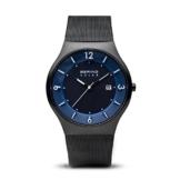 BERING Herren-Armbanduhr Analog Solar Edelstahl 14440-227 - 1