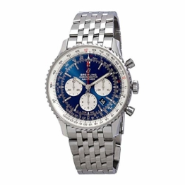Breitling Navitimer 1 B01 Chronograph 46 blaues Zifferblatt Herrenuhr AB0127211C1A1 - 1
