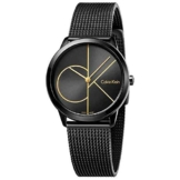 Calvin Klein Damen Analog Quarz Uhr mit Edelstahl Armband K3M224X1 - 1