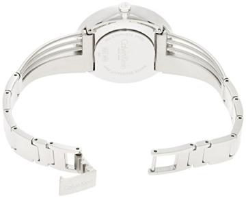 Calvin Klein Damen Analog Quarz Uhr mit Edelstahl Armband K6S2N111 - 2