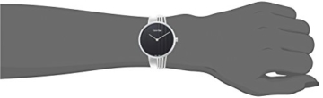 Calvin Klein Damen Analog Quarz Uhr mit Edelstahl Armband K6S2N111 - 4