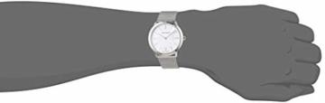 Calvin Klein Damen-Armbanduhr XS minimal Analog Quarz Edelstahl K3M22126 - 2