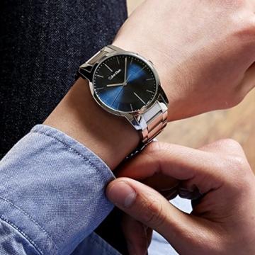 Calvin Klein Herren Analog Quarz Uhr mit Edelstahl Armband K2G2G1ZN - 3