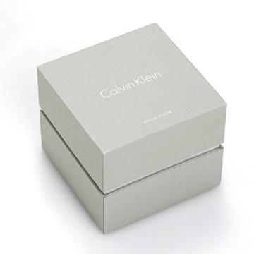 Calvin Klein Herren Analog Quarz Uhr mit Edelstahl Armband K2G2G1ZN - 4