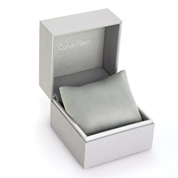 Calvin Klein Herren Analog Quarz Uhr mit Edelstahl Armband K2G2G1ZN - 5