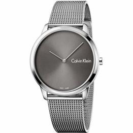 Calvin Klein Herren Analog Quarz Uhr mit Edelstahl Armband K3M211Y3 - 1