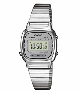 Casio Collection Damen Retro Armbanduhr LA670WEA-7EF - 1