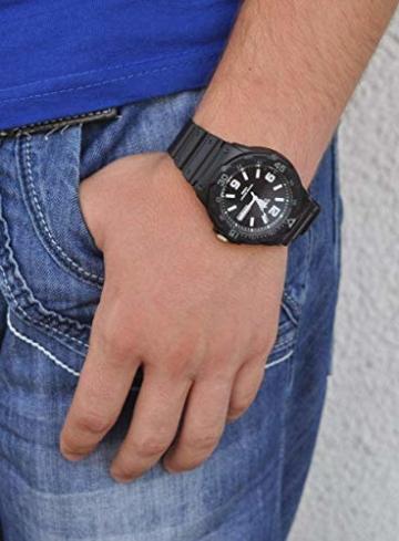 Casio Collection Herren-Armbanduhr MRW 200H 1B2VEF, schwarz/Schwarz - 4