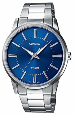 Casio Collection Herren Armbanduhr MTP-1303PD-2AVEF, Blau - 1