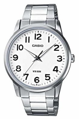 Casio Collection Herren Armbanduhr MTP-1303PD-7BVEF, Weiß - 1