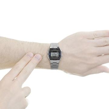 Casio Collection Unisex-Armbanduhr A163WA 1QES - 5